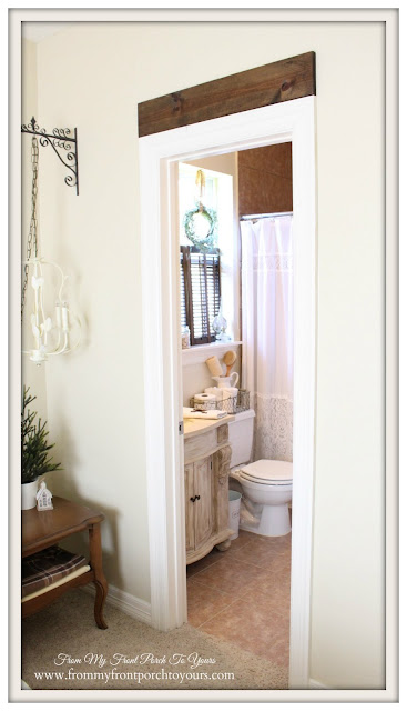 Farmhouse Guest Bathroom- Small Bath-From My Front Porch To Yours