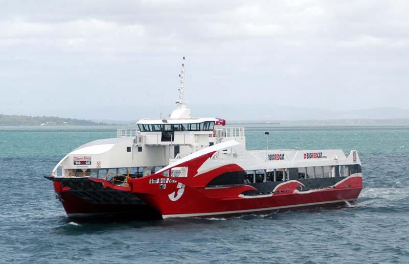 Big Red Cat North Stradbroke Island Ferry