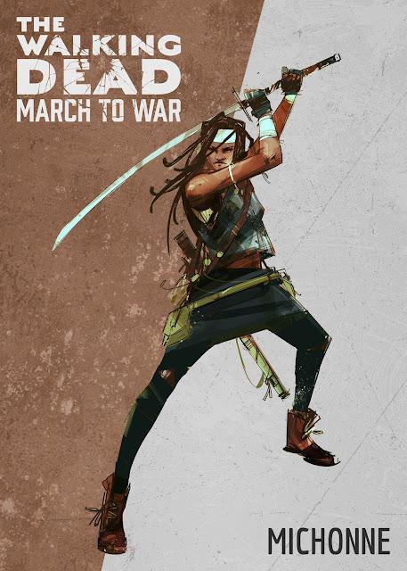 The Walking Dead: March to War - Michonne