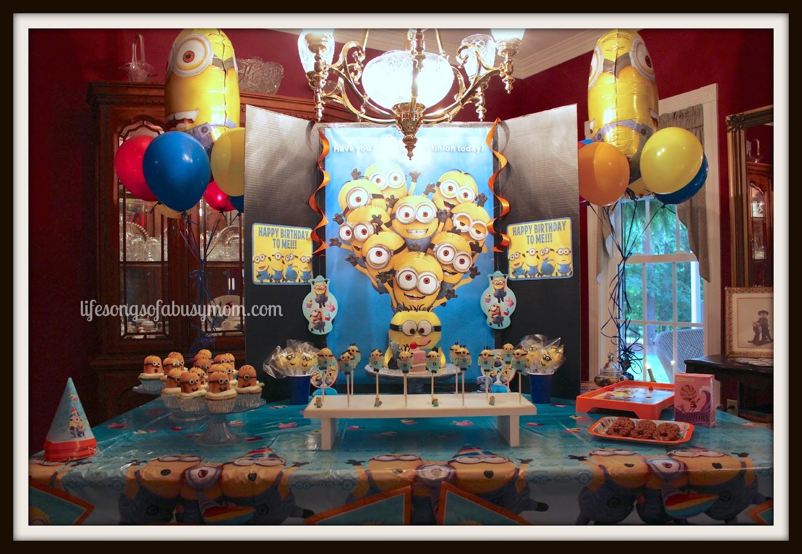 Despicable Me Minion Birthday Party