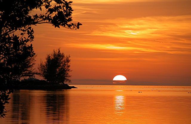 Golden Sunset at Key West