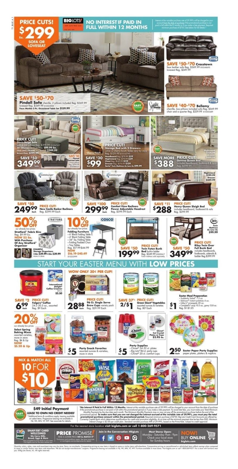 This Ad May Contain Time Sensitive Information And Offers Visit Official Website Here For More Big Lots Weekly Ads You Can Use The ZIP Code Or City