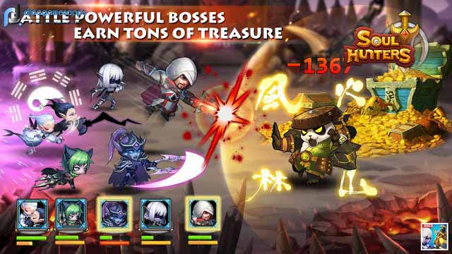 Download Soul Hunters MOD APK Terbaru 2018