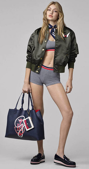 Tommy Hilfiger Otoño Invierno 2016 moda mujer