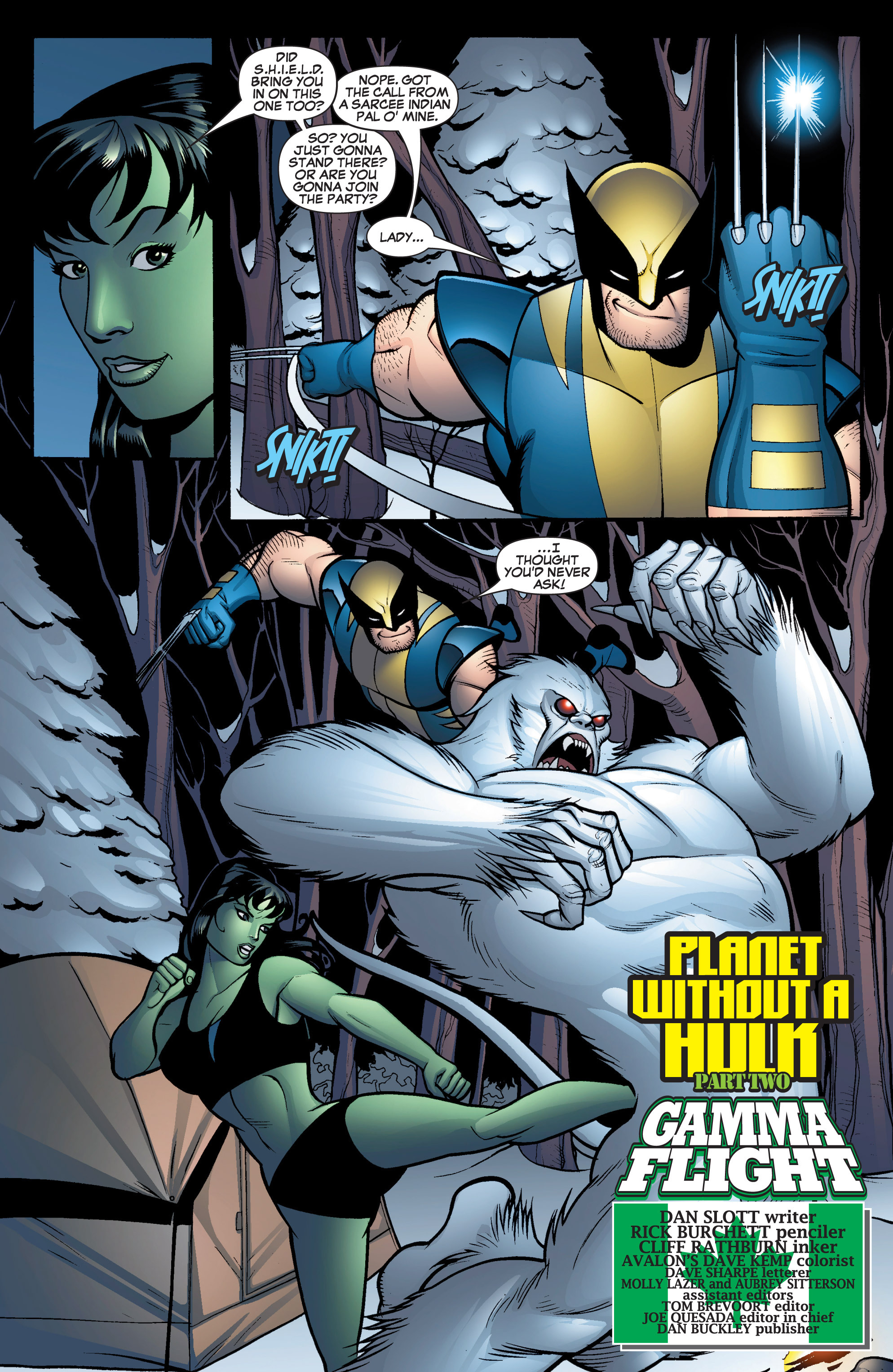 Read online She-Hulk (2005) comic -  Issue #16 - 6