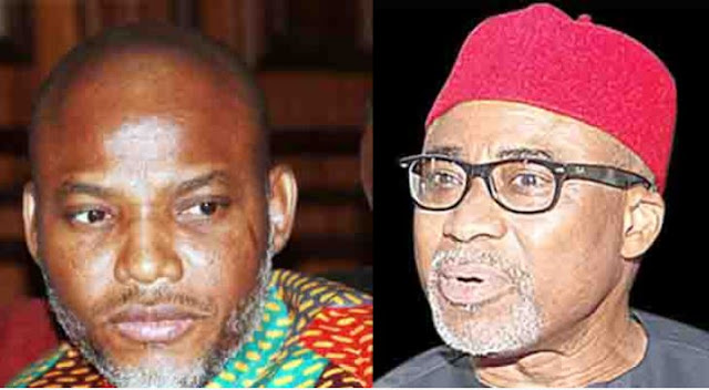 What Abaribe Told a Federal High Court About the IPOB Leader's Whereabouts