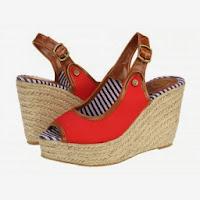 Sandale casual dama Gioseppo Latania rojo