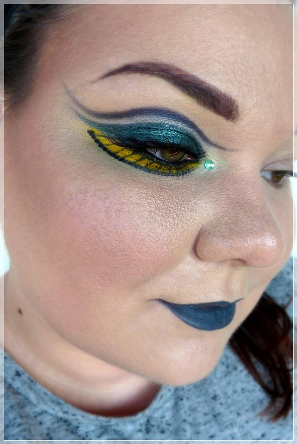 Königin Nehelenia Make-up