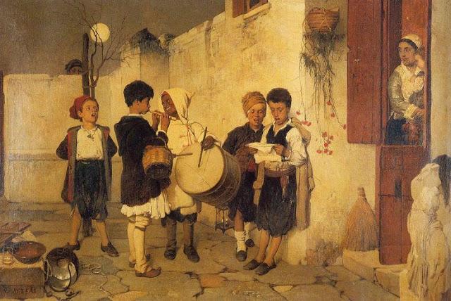 Ta Kalanda  Greek Carol Singing  Nikiforos Lytras
