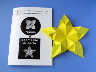 Origami: Booklet QQM 60 and Stella aquilone - Kite Star  by Francesco Guarnieri