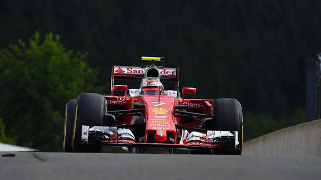 Latihan Bebas 3 GP F1 Belgia : Raikkonen Tercepat