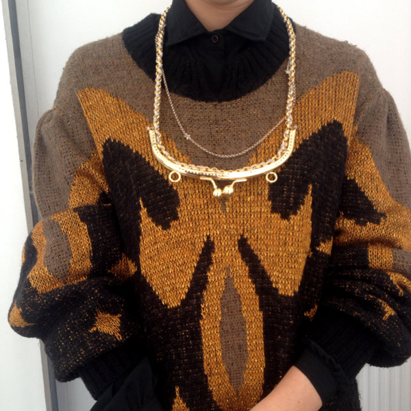 Lower East Dry Goods Diy Vintage Purse Necklace