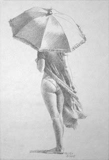 mujeres-con-sombrilla-dibujos-a-lapiz