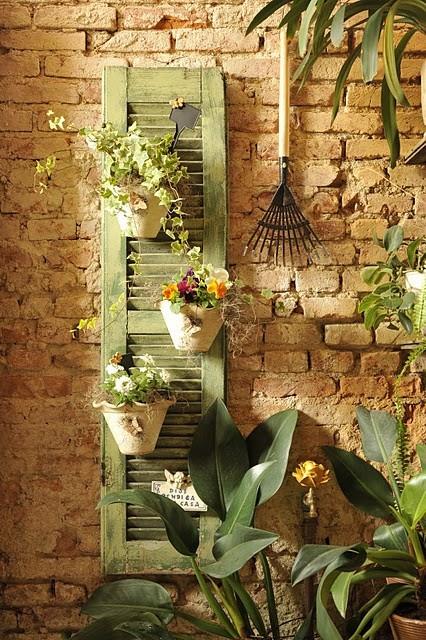 25 Repurposed Shutter Decorating Ideas The Cottage Market