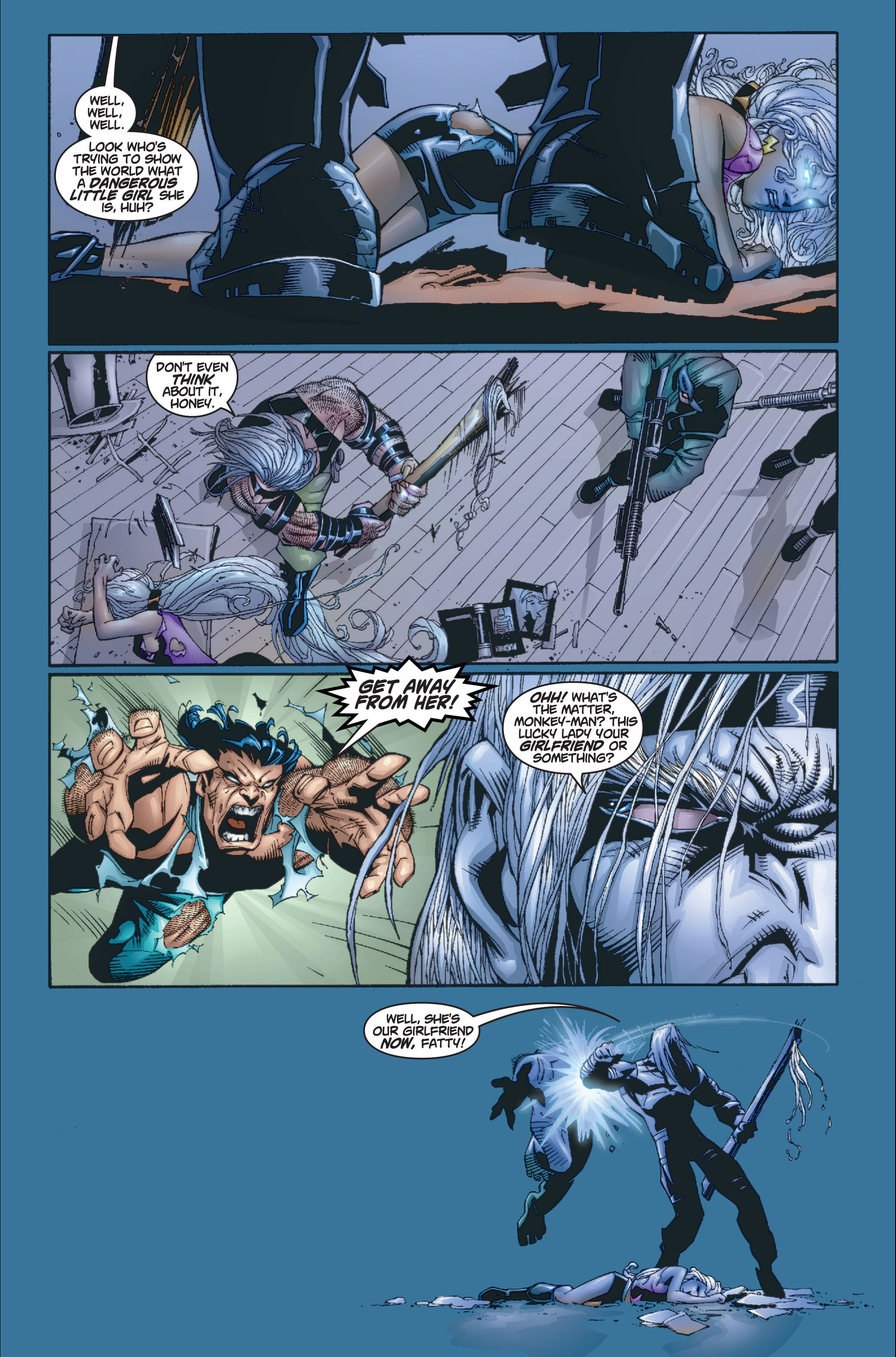 Read online Ultimate X-Men comic -  Issue #8 - 17