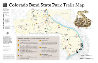Colorado Bend Trail Map