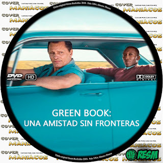 GALLETA 1 GREEN BOOK: UNA AMISTAD SIN FRONTERAS - LIBRO VERDE - GREEN BOOK [COVER DVD]