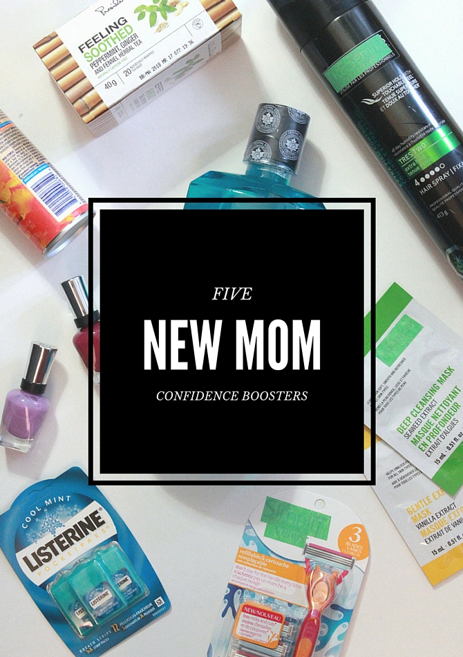 5 new mom confidence boosters