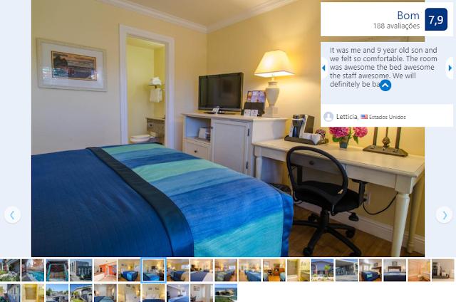 Hotel Carousel Beach Inn para ficar em Santa Cruz