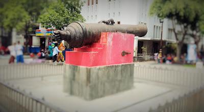 meriam si jagur berada di kawasan Kota Tua