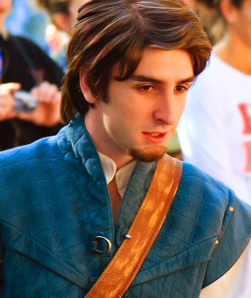 Some Girls Get Crazy Over Tangled Movie Real Life Flynn Rider