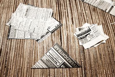 Papiersterne basteln