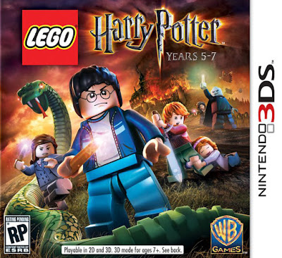 LEGO Harry Potter Years 5-7 CIA 3DS USA