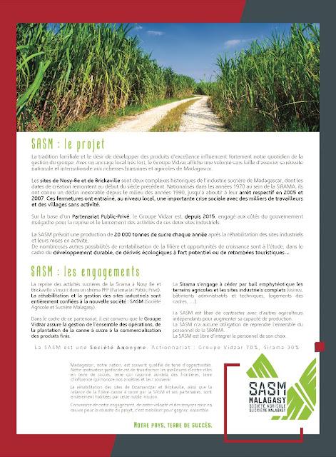 Insertion presse nationale Madagascar SASM 4