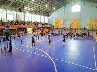 Tim Bola Volly Indoor Putra-Putri Kobi  Menang Telak Lawan Tim Dompu dan Lotim