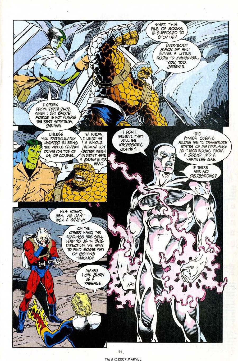 Read online Silver Surfer (1987) comic -  Issue #96 - 13