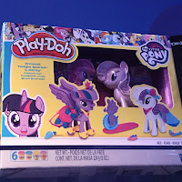 My Little Pony Play-Doh Twilight Sparkle & Rarity Fashion Fun