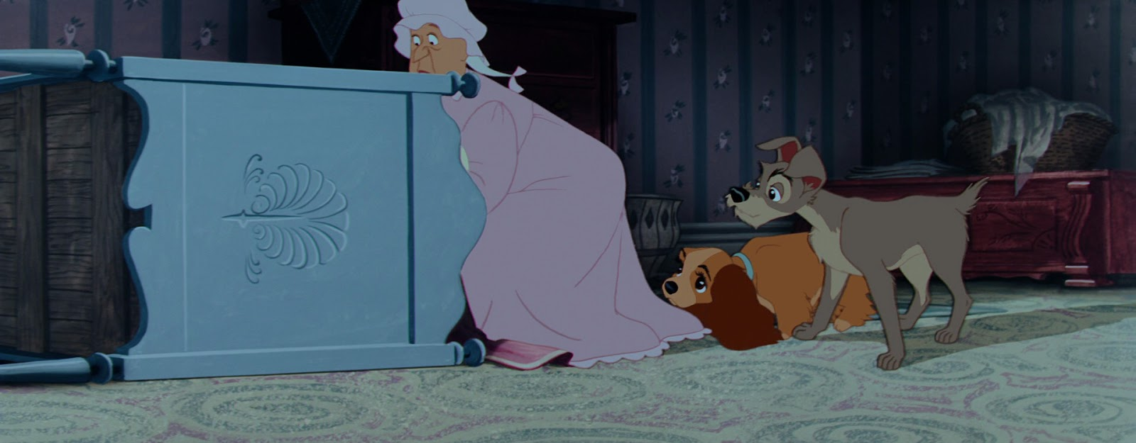 Authorquest Analyzing The Disney Villains Aunt Sarah Lady And The Tramp