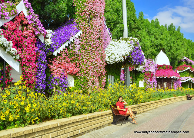 flower cottage at Dubai Miracle Garden