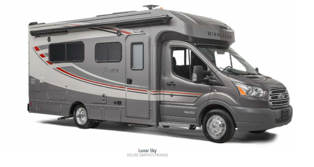 2017 Winnebago Fuse - From Winnebago Brochure