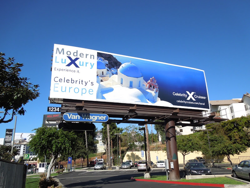 Modern Luxury Celebritys Europe billboard