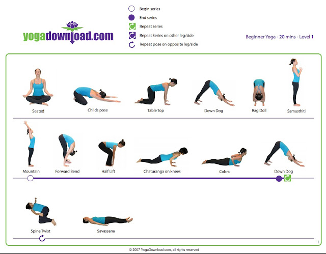 15 minute yoga flow workout