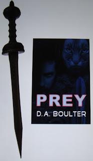 Portada del libro Prey, de D. A. Boulter