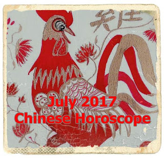 July 2017 Chinese Horoscope  HORSE, GOAT, MONKEY, ROOSTER, DOG, PIG