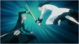 อิจิโกะสู้กับซันเกสึ
