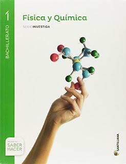 Libro Física y Química 1º Bachillerato Santillana Proyecto Saber Hacer Serie Investiga