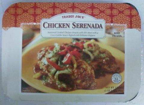What S Good At Trader Joe S Trader Joe S Chicken Serenada