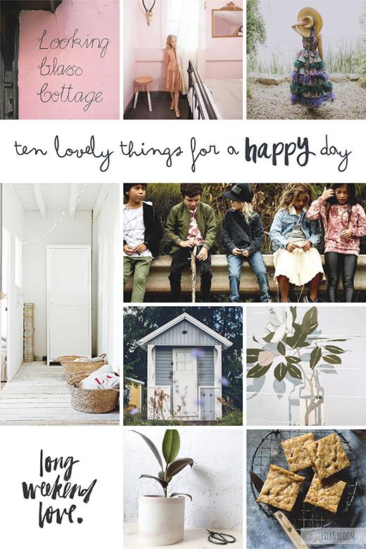 ten lovely things that caught my eye this week