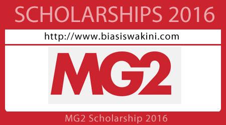 MG2 Scholarship 2016