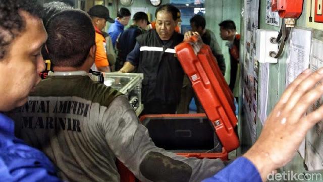 Black Box Lion Air PK-LQP Harus Selalu Terendam Air, Ini Alasannya