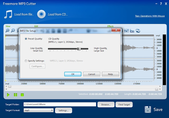 تحميل برنامج تقطيع الاغانى mp3 cutter مجانا 2018 كامل Download MP3 Cutter