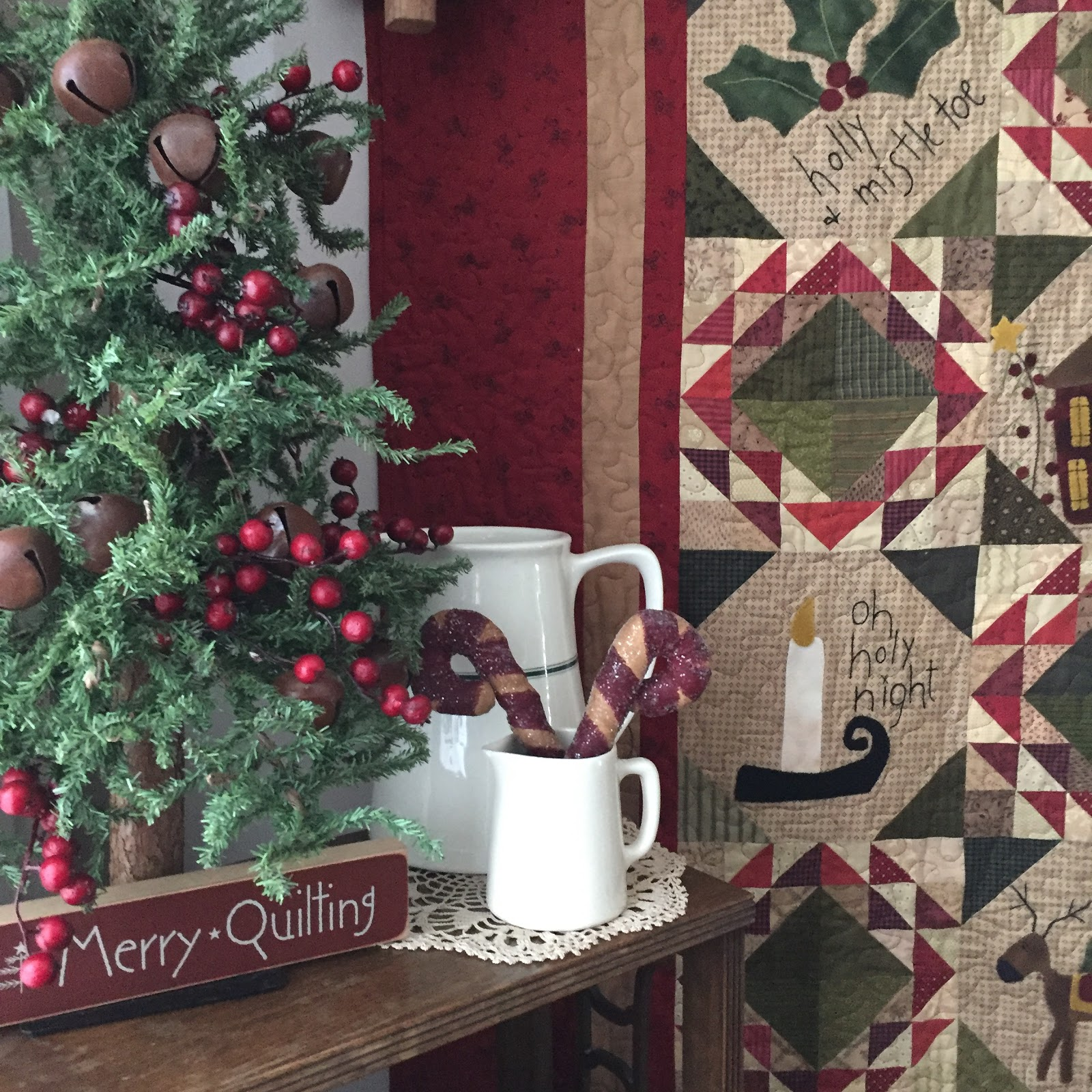 Keeping Christmas All The Year: Sweet P Quilting And Creations