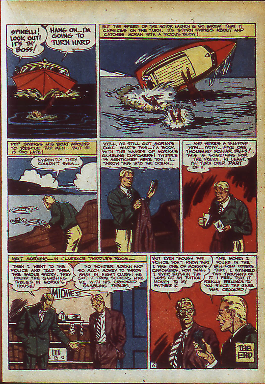 Read online Action Comics (1938) comic -  Issue #37 - 23