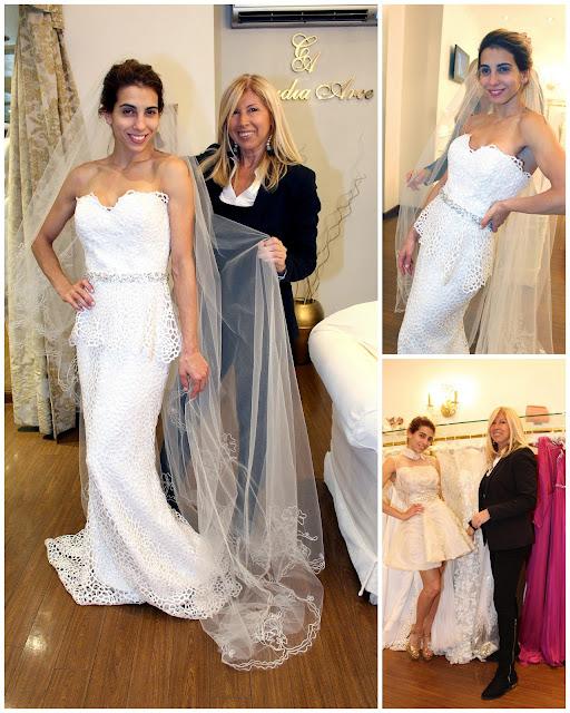 @cinthifernandez eligió a @cloarce como diseñadora de su vestido de novia
