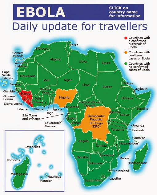 Ebola update for travelers to and from Africa eTurboNews eTN