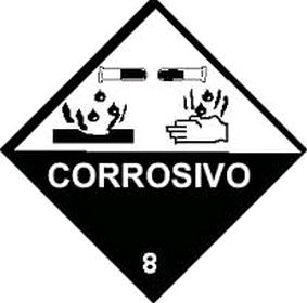 alerta corrosividade substancia